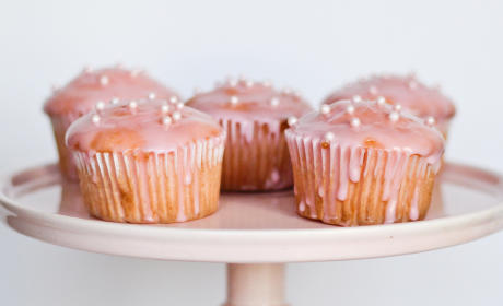 Pink Champagne Cupcakes Recipe