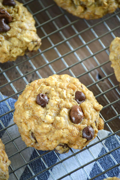 Gluten Free Oatmeal Raisinet Cookies Picture