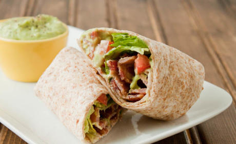 BLT Wrap with Avocado: Pureed to Perfection