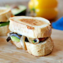 Fajita Grilled Cheese Recipe