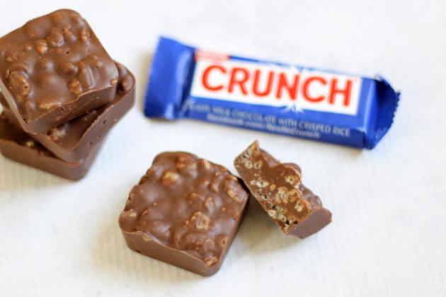 Homemade Nestle Crunch Pic