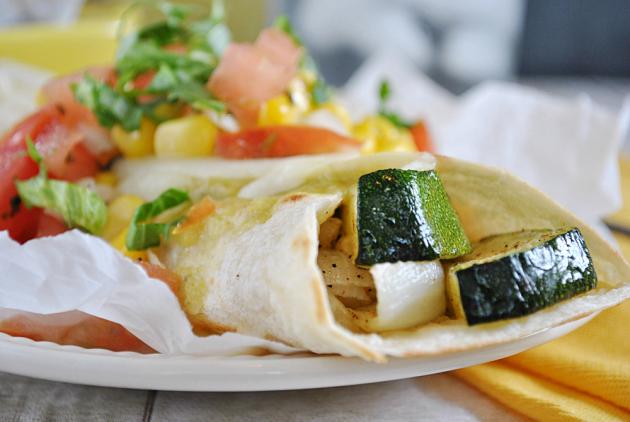 Vegetarian Enchiladas Image