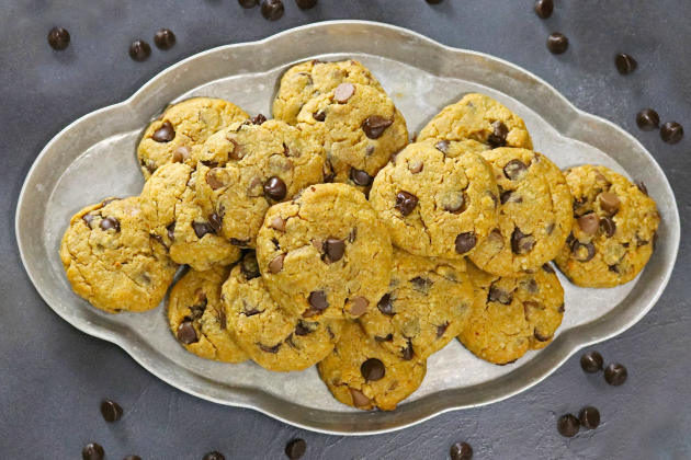 Gluten Free Chocolate Chip Peanut Butter Cookies Photo