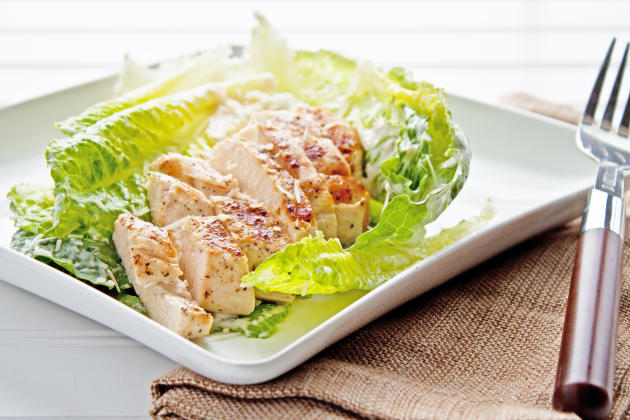 Chicken Caesar Salad Photo