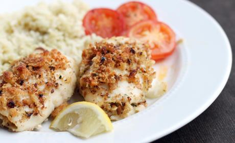 Tilapia Roulade: Crispy Baked Fish