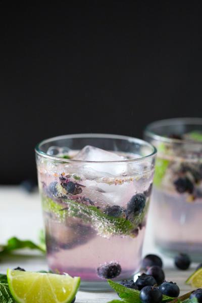Blueberry Mojito Picture