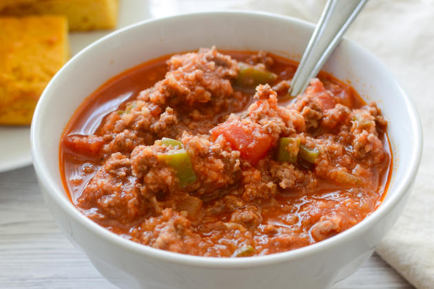 Paleo Stuffed Pepper Soup Photo
