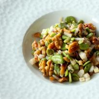 Fava Bean Salad Recipe