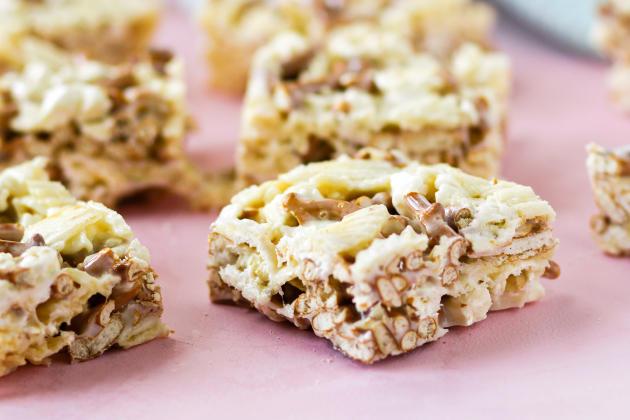Junk Food Marshmallow Squares Photo