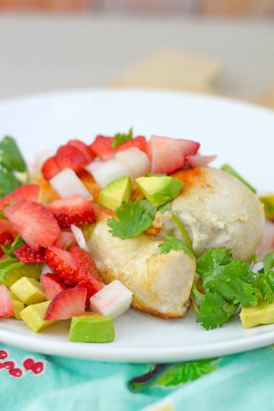 Strawberry Salsa Chicken Picture