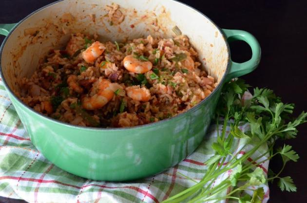 Andouille and Shrimp Jambalaya Photo