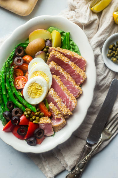 Asian Nicoise Salad