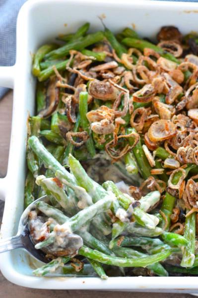 Gluten Free Green Bean Casserole Image