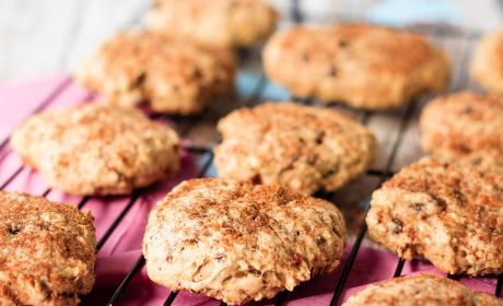 Apple Oatmeal Breakfast Cookies Recipe