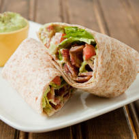 BLT Wrap Photo
