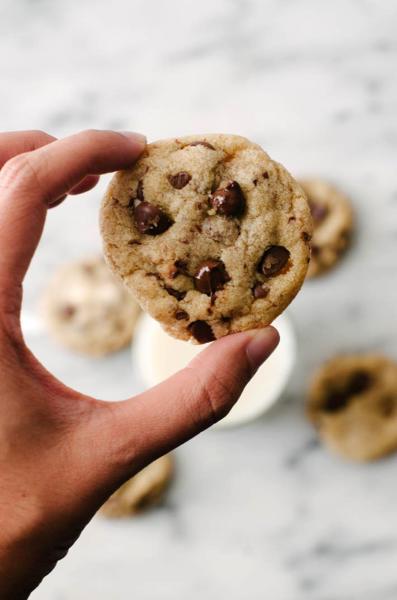 Small Batch Vegan Chocolate Chip Cookies Image
