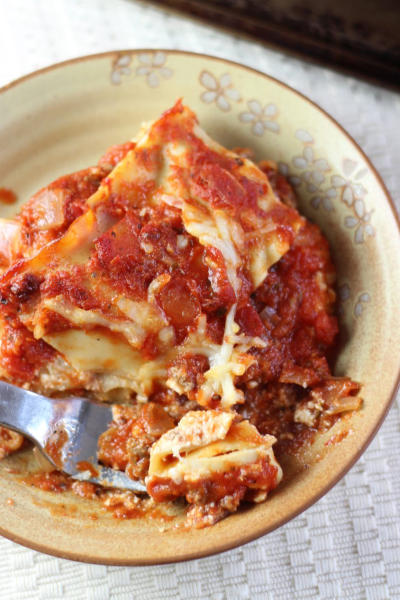 Ina Garten Lasagna Image