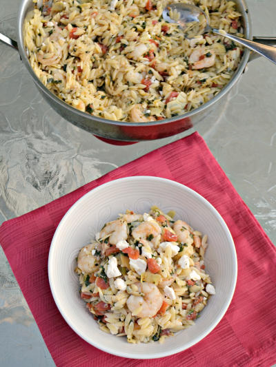 Shrimp and Orzo Picture