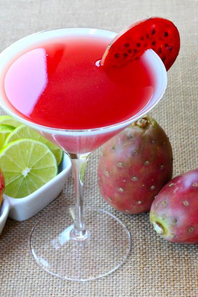 Prickly Pear Martini Picture