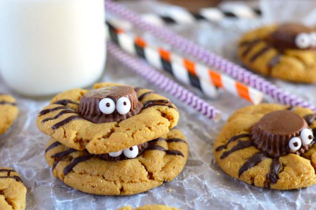 Spider Cookies Photo