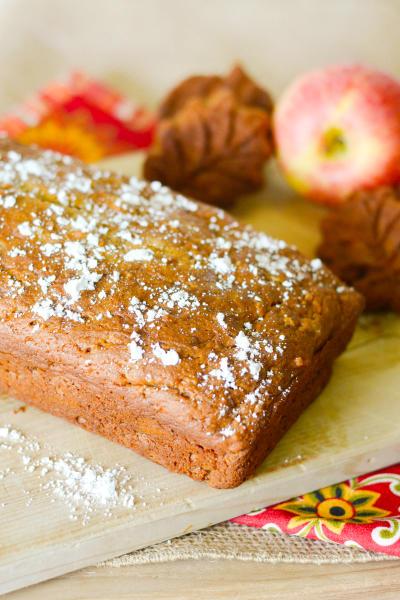 Gluten Free Caramel Apple Bread Image