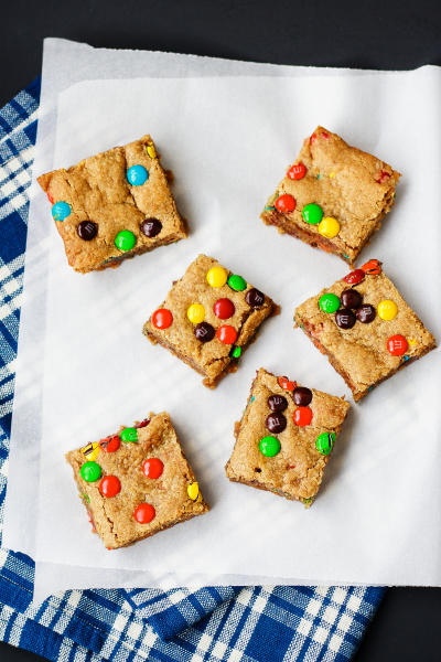 Oatmeal Peanut Butter Bars Picture