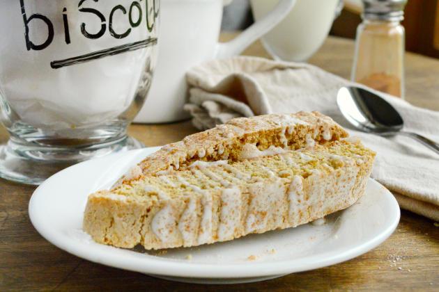 Spiced Biscotti with Maple Glaze - Food Fanatic