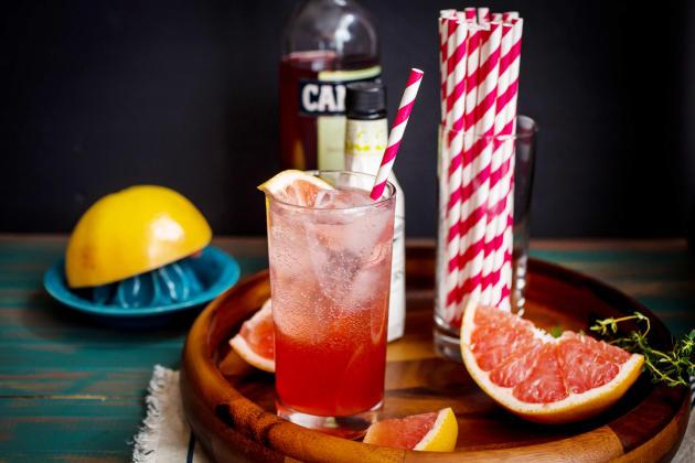 Blushing Grapefruit Collins Photo