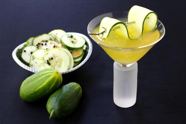 Cucumber Gin Martini Photo