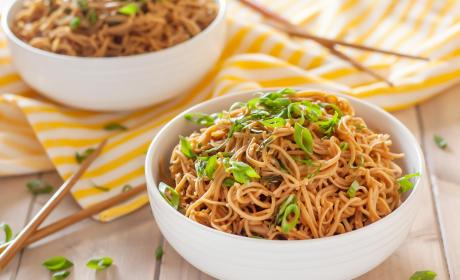 Gluten Free Sticky Garlic Noodles Recipe