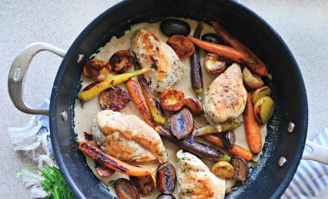One Pot Chicken Vegetable Skillet