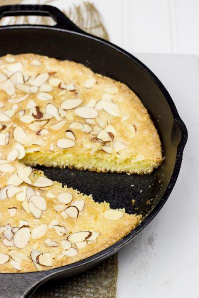 Almond Skillet Cake Image
