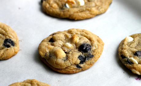 Blueberry and Cream Cookies Recipe