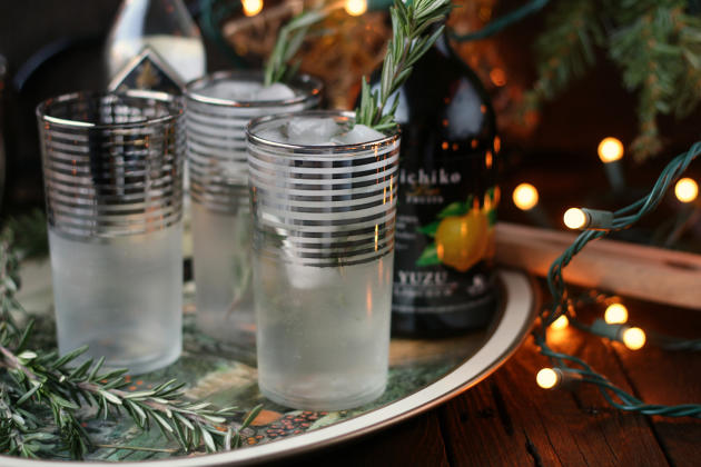Rosemary Yuzu Gin Fizz Photo