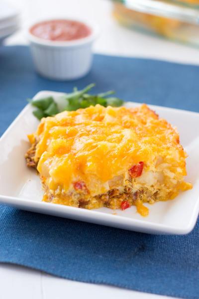 Southwestern Breakfast Casserole Image