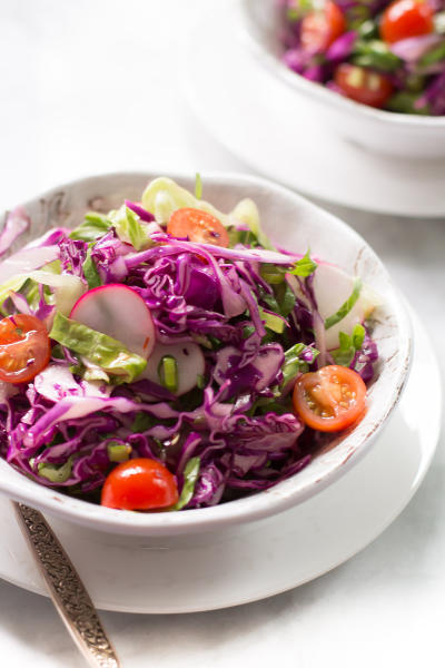 Quick Easy Red Cabbage Salad Picture