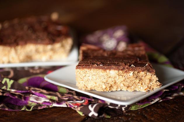 Chocolate Peanut Butter Pretzel Bars Photo