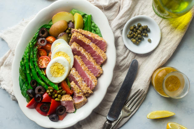 Asian Nicoise Salad Photo