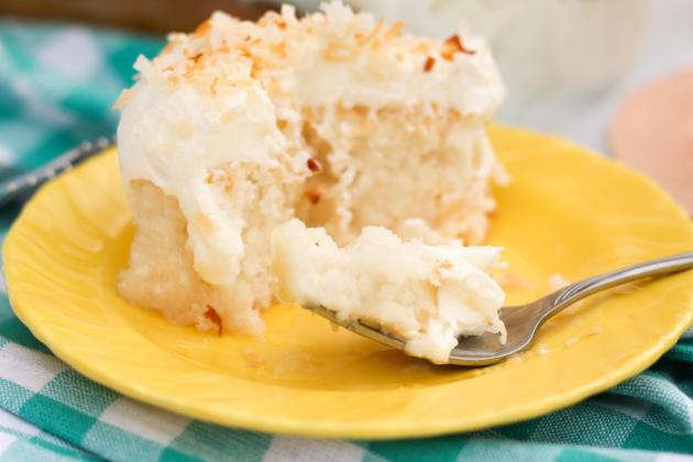 Coconut Poke Cake Image