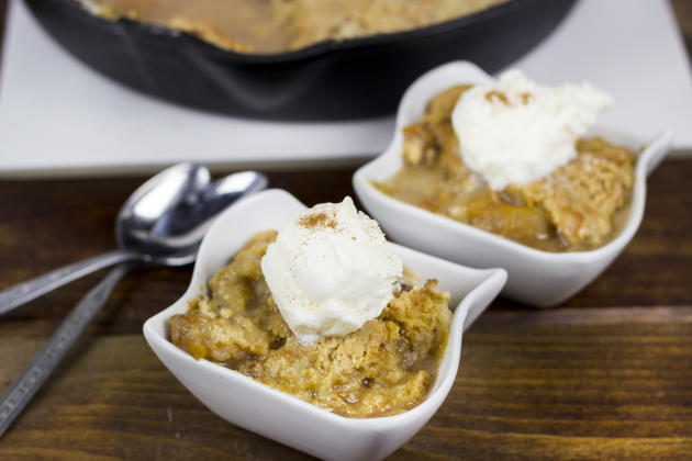 Peach Blueberry Cobbler Photo