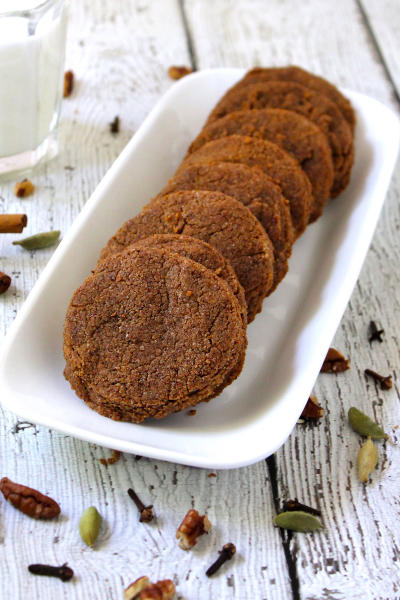 Gluten Free Spiced Pecan Cookies Picture