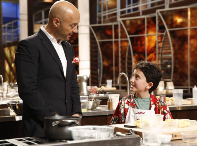 Masterchef Jr. Scene