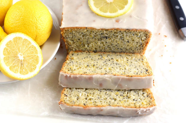 Gluten Free Lemon Poppyseed Bread Pic