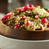 Roasted Brussels Sprouts Quinoa Salad Recipe