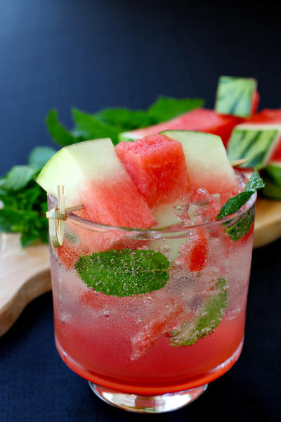 Watermelon Mint Spritzer Picture