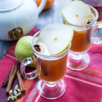 Pear Chai Toddy Recipe