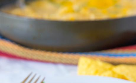 White Chicken Enchilada Skillet Image