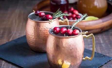 Cranberry Cider Mule Recipe