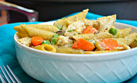 Chicken Pot Pie Pasta Recipe