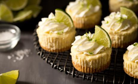 Mini Margarita Cheesecakes Recipe